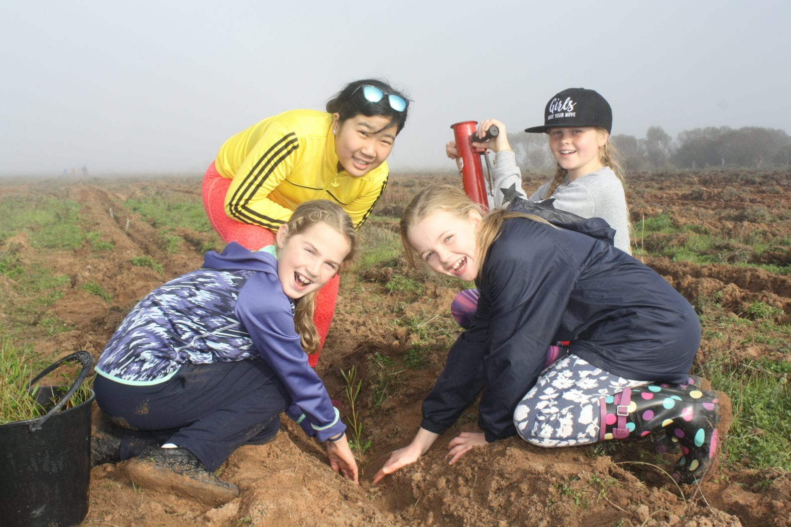 Annual Quairading Rotary Tree Planting Camp